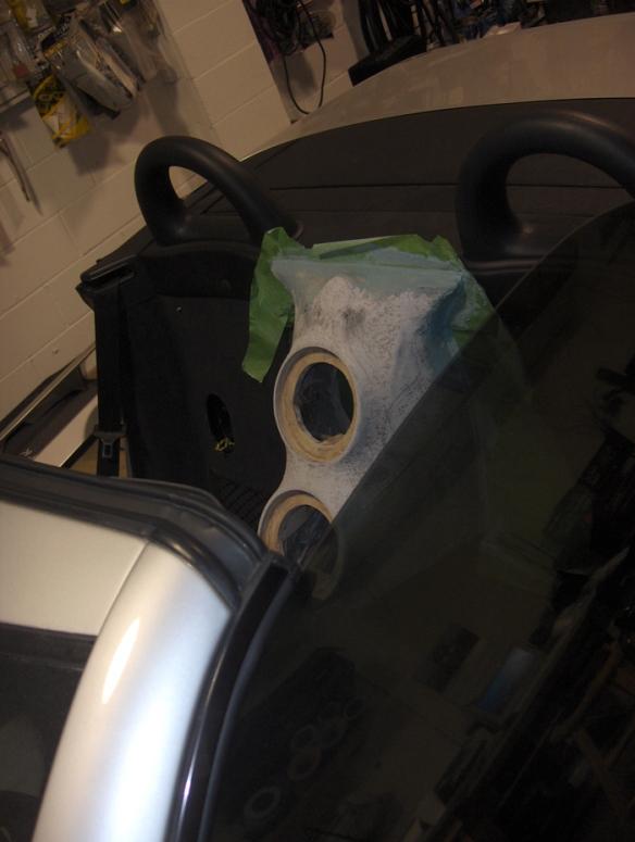 benz rear speaker