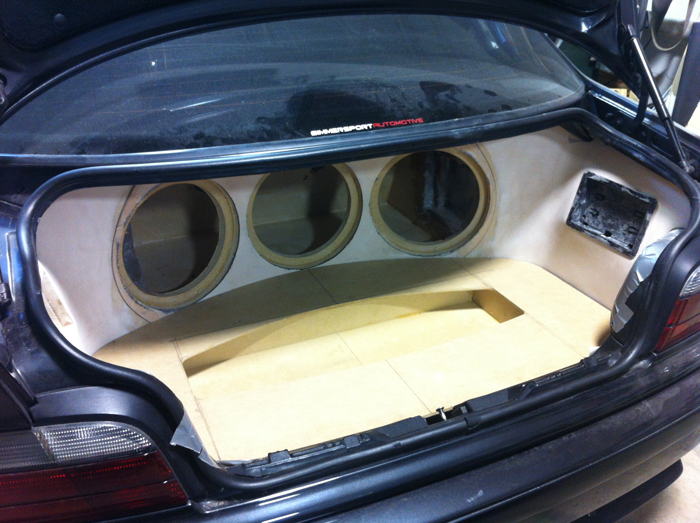 fiberglass trunk ultra auto sound. Black Bedroom Furniture Sets. Home Design Ideas