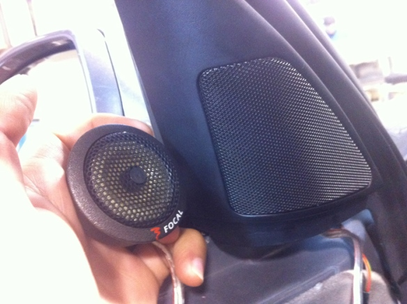 Focal Kevlar tweeters replace the harsh metal tweeters