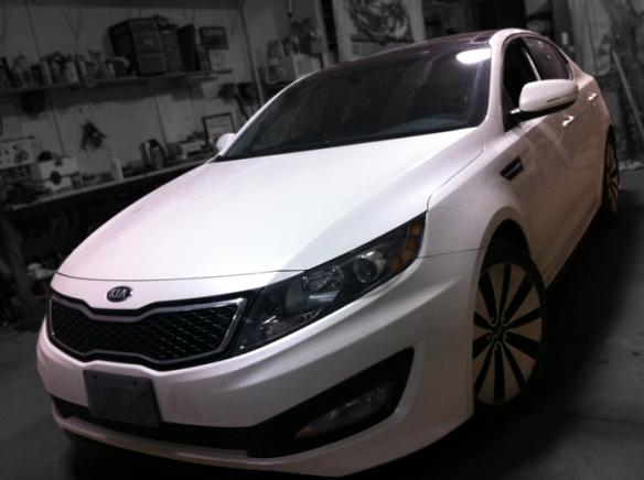 This Kia Optima needs more BASS! ULTRA AUTO SOUND to the rescue.