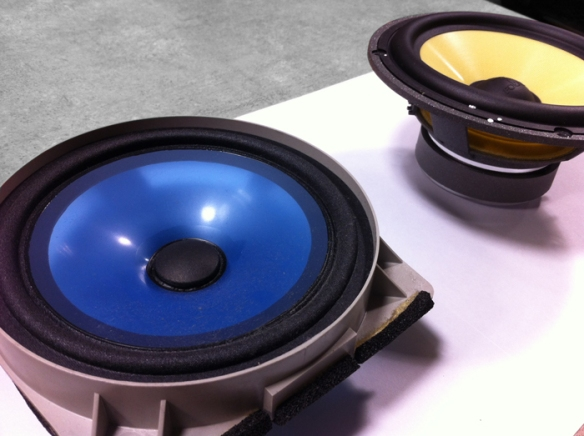 The Focal speaker is much bigger, needs professional installation is recommended.