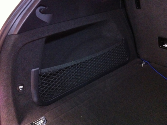 Porsche trunk for the new models. Wasted space. Great for a 10| subwoofer.