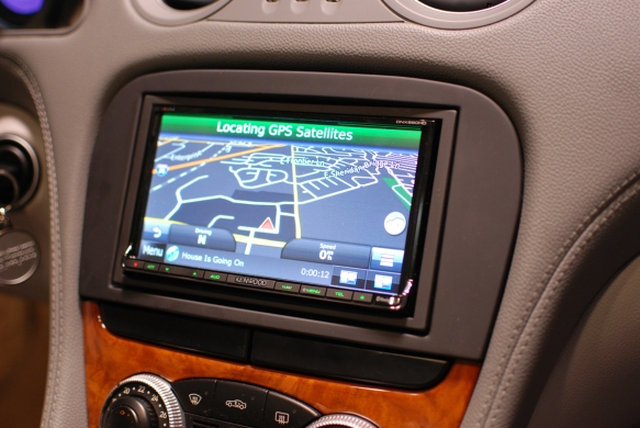 Easy to use interface. Fast. Garmin navigation. Nice touch interface. Kenwood DNX 890HD.