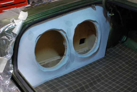 Custom enclosures for JL Audio TW3's