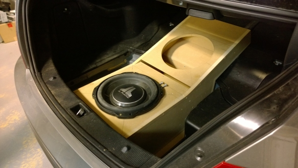 Two JL audio 12TW3 subwoofers.