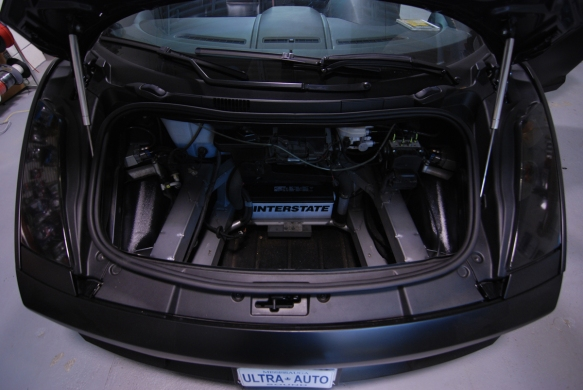 Battery location of the Gallardo