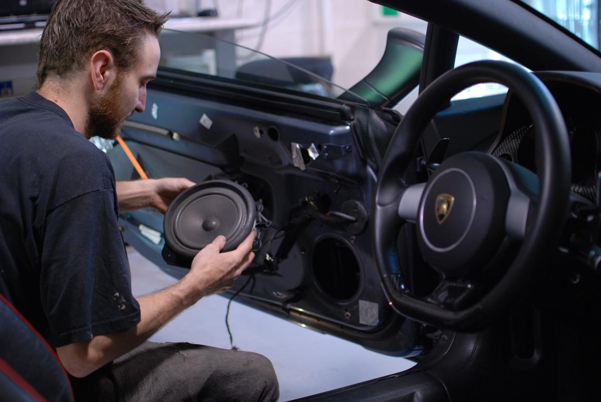 Original Lamborghini Speaker