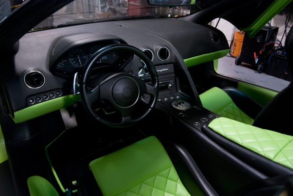 Audio in a Lamborghini can use the ULTRA touch