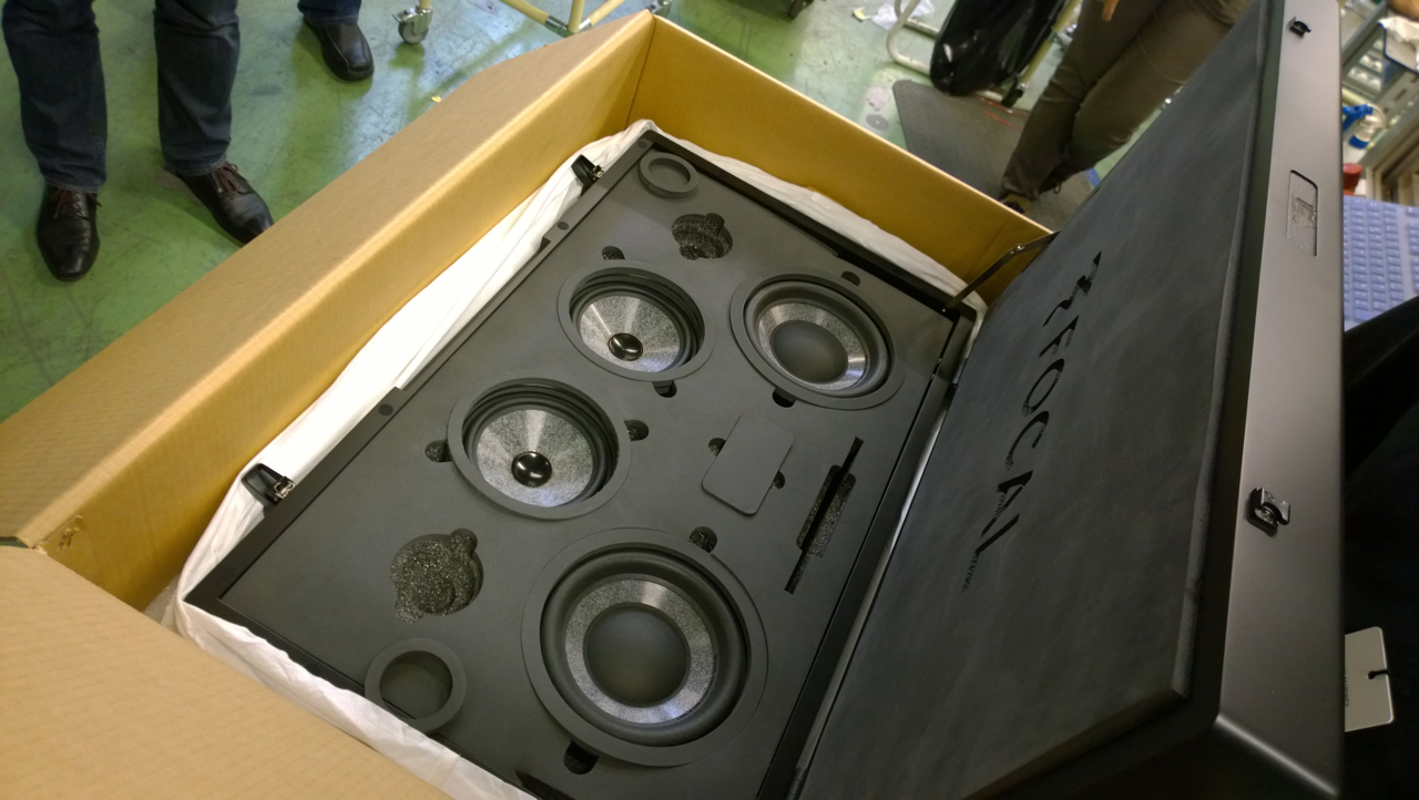 Special Events Ultra Auto Sound Car Stereo Speaker 20 000 Focal Ultima Set In The Process Of Being Built This Unique