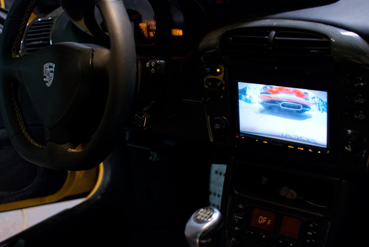 Turbo Porsche 911 Audio Upgrade