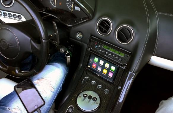 Lamborghini Murcielago with Kenwood DDX 9902S