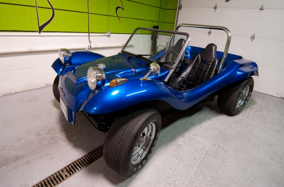 One of a kind dune buggy needs tunes!