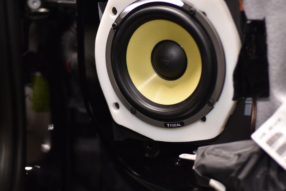 Ferrari Ultra Auto Sound Car Speaker Installation Focal Es165kx3 Speakers Installed